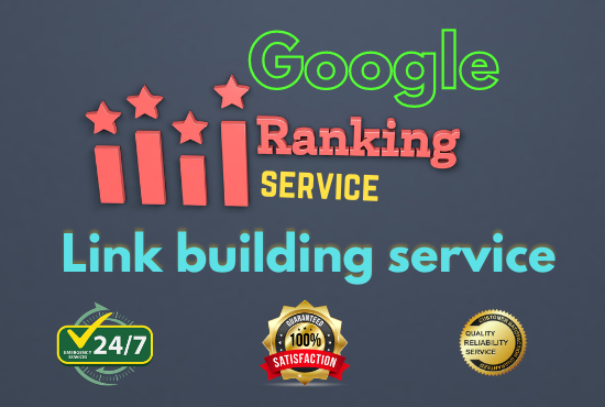 i will Offer Guaranteed Google 1st page ranking service With Best Linkbulding Service