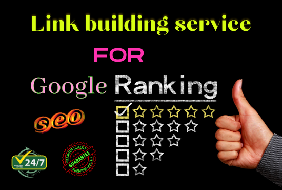 I will Provide Guaranteed Google 1st page ranking With Best Linkbulding Service