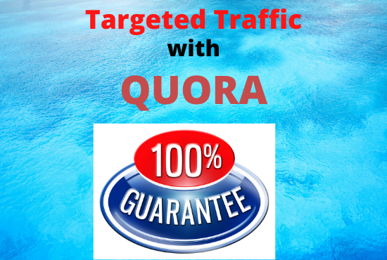 30 High Quality Quora Answers PostingWith Guaranteed Visitor