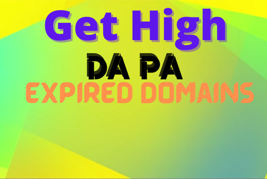 I will research 20+ 20 SEO friendly high metrics expired domain