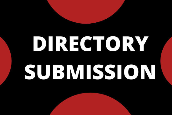 I will do 100 high quality permanent directory submissions