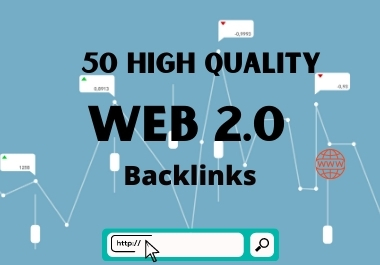 DA 80+ web 2.0 backlinks to top your website