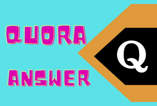 50 High Quality Niche Related Quora Answer Posting With Guaranteed Visitor