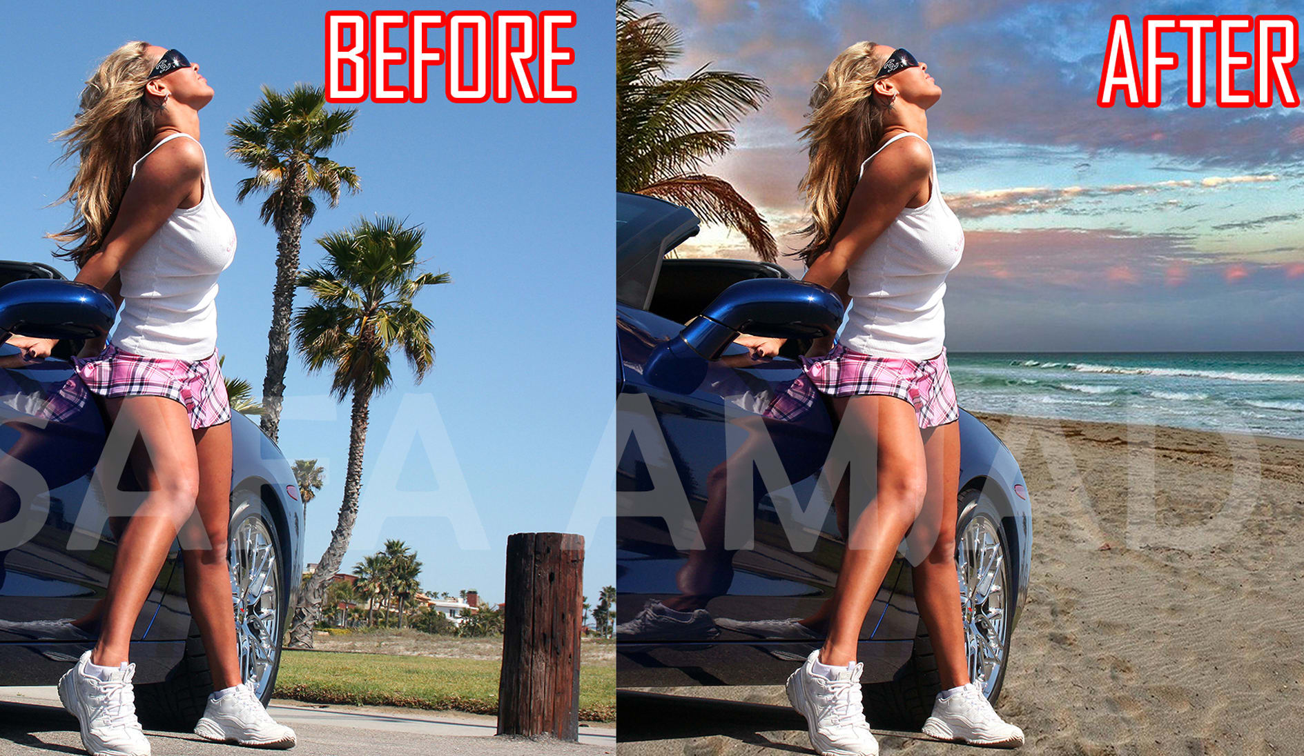 I will do photoshop editing remove background face swap retouching resizing in 12 hours