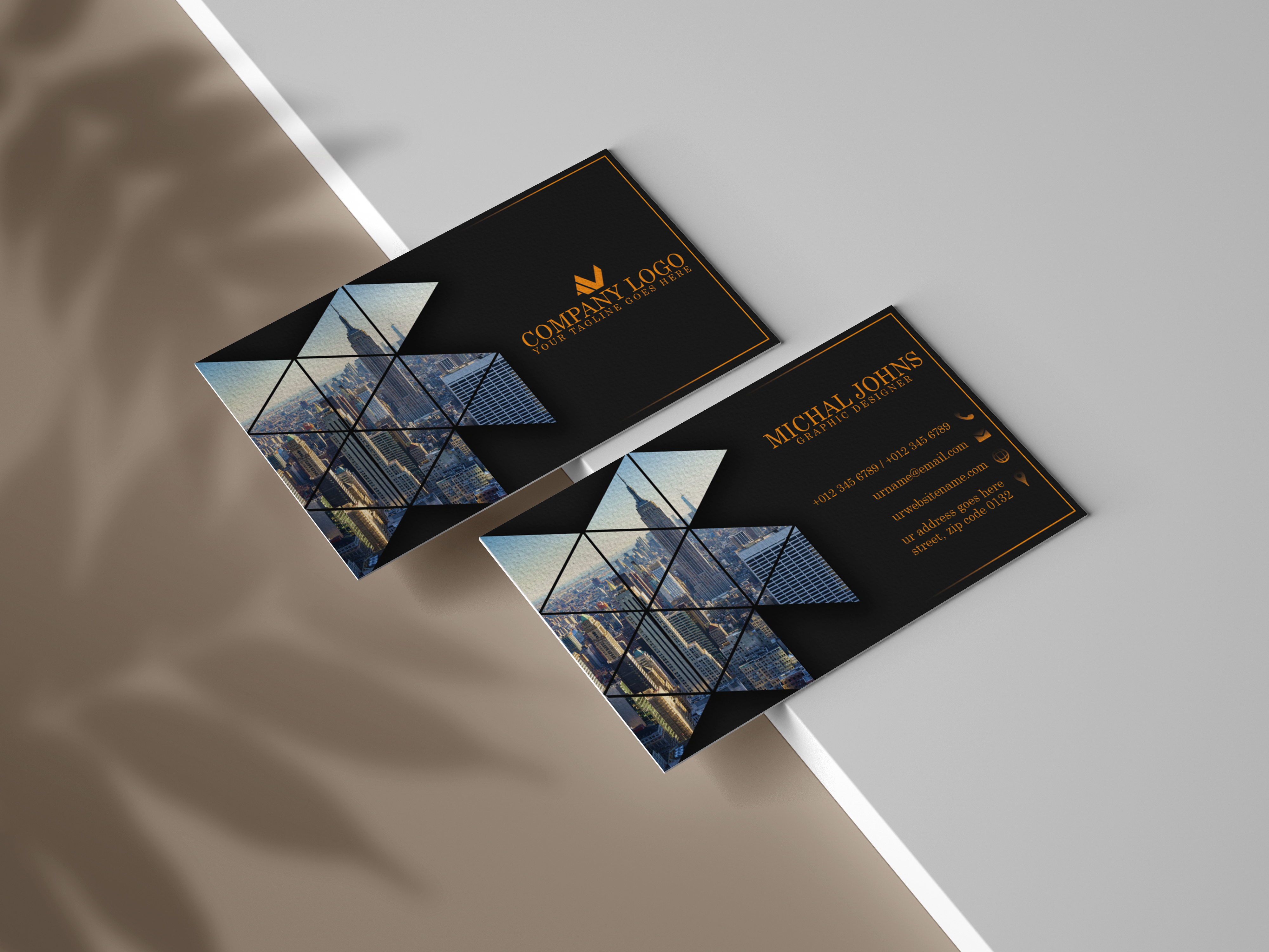 I will design unique business card for you