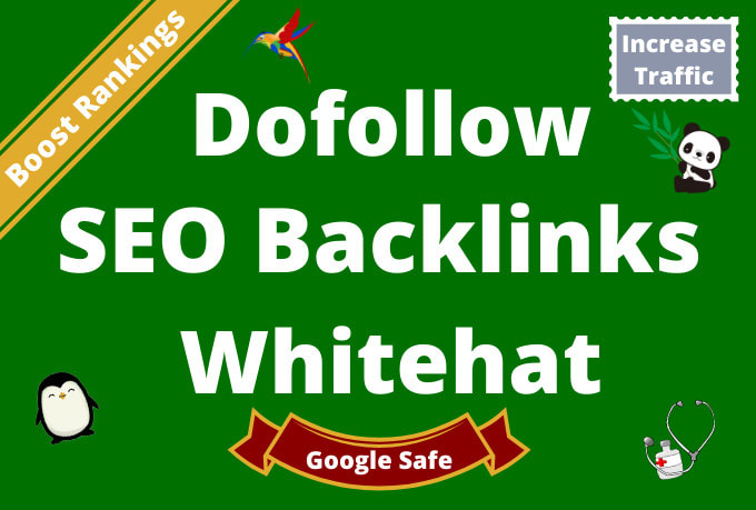 I will 100 build high quality dofollow SEO backlinks link building google top ranking