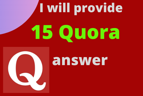 bring targeted traffic with 15 HQ quora answers