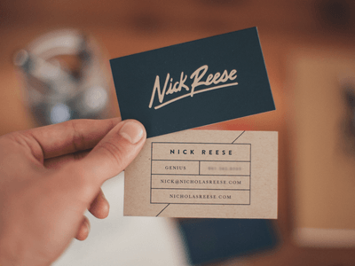 BUSINESS CARD MAKER- Business is very important in everyday life and so is business card.