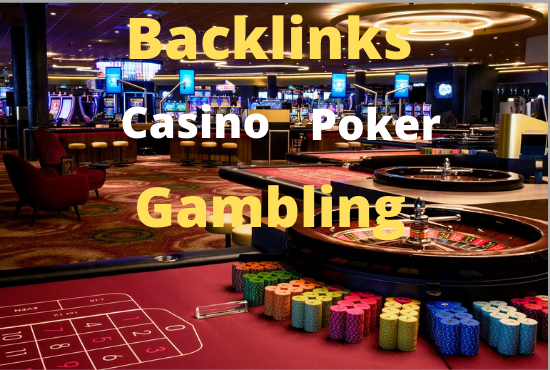 Build 25 casino poker gambling pbn backlinks with high da pa 15 to 30