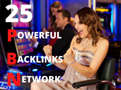 Build 25 casino poker gambling pbn backlinks with high da pa Fast ranking