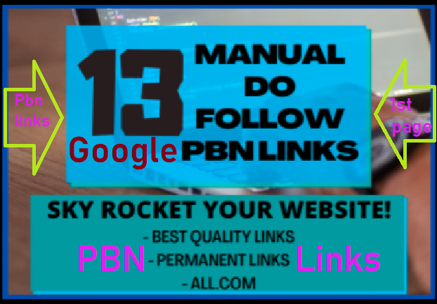 Build 13 Google News Approved Manual Permanent PBN Homepage backlinks with high 40+ DA/40+PA