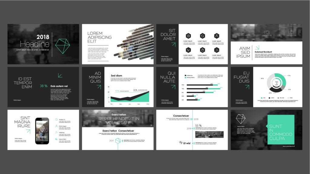 I will design a beautiful professional powerpoint presentation