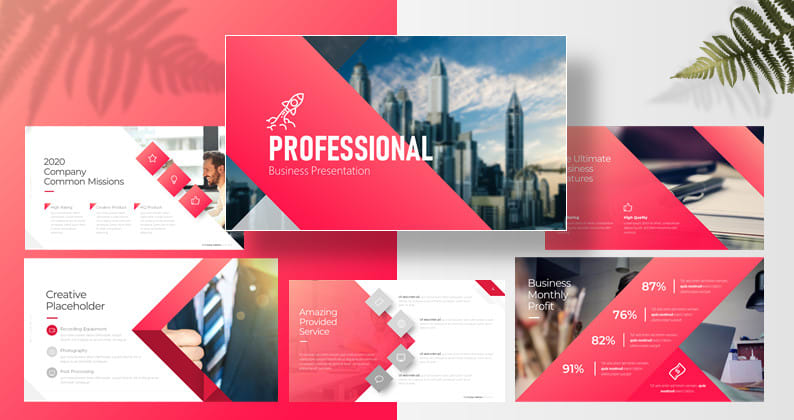 I will design professional powerpoint presentation and pitch dec