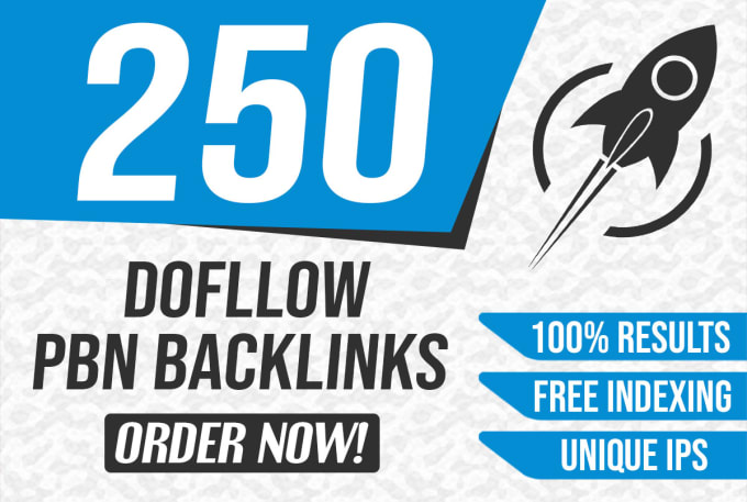 Build 250 High PA DA TF CF Home Page PBN Backlinks - Dofollow Quality Links