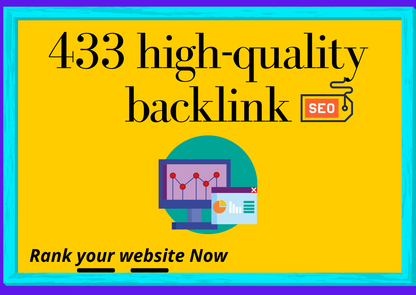 I will do 433+ High-quality backlink for rank your website