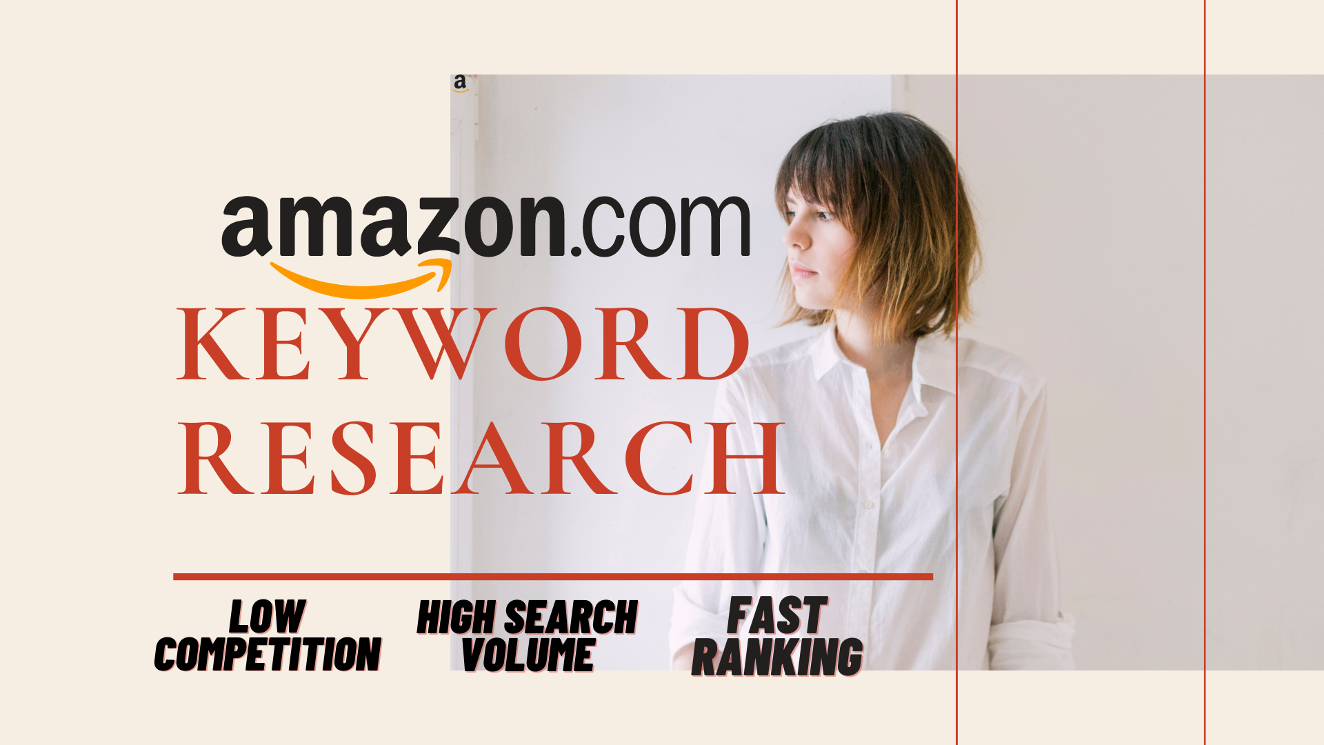 I will do amazon SEO keyword research & competitor analysis
