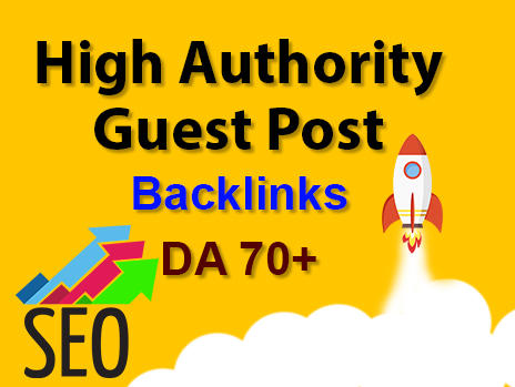 High authority guest post backlinks