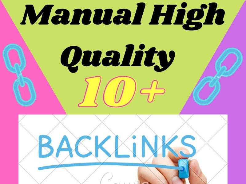 I will provide 10+ manual High quality 80+ DA PA Dofollow Backlink for your google top page ranki