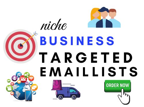 I will create a highly niche targeted email list for your business