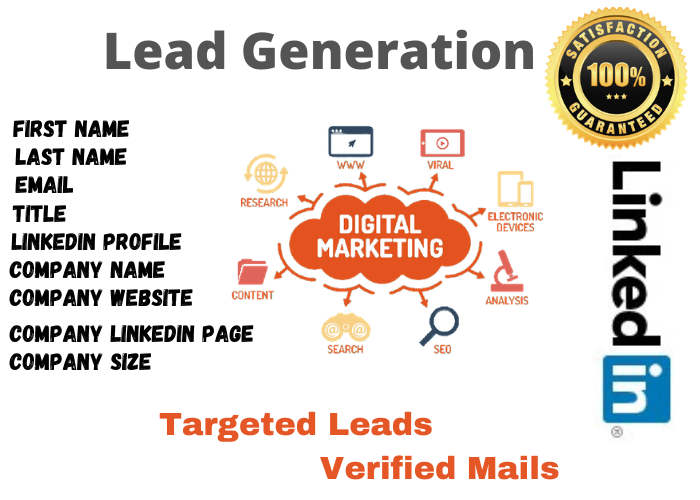I will serve lead generation work