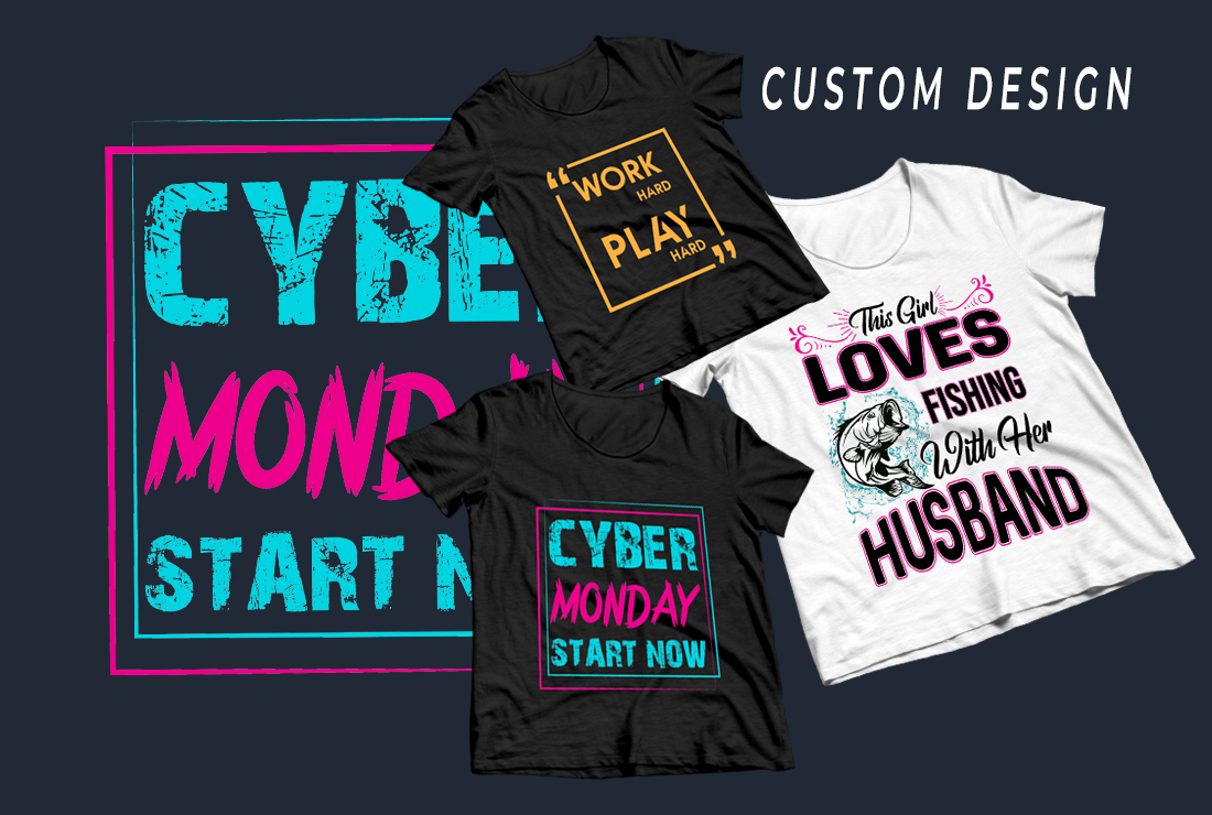 I will do awesome typography t-shirt design within 4 hours