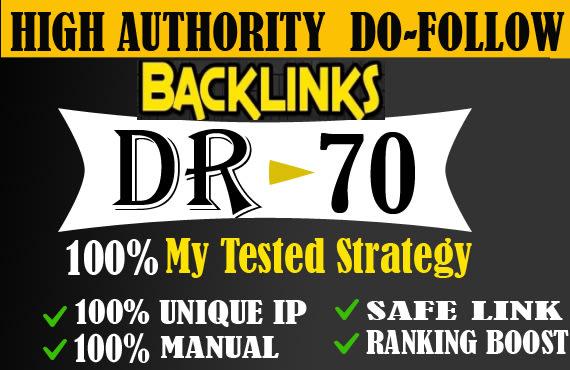 I will do 30 DR 50 to 70 ufabet poker judi gambling seo dofollow contextual backlinks off page seo