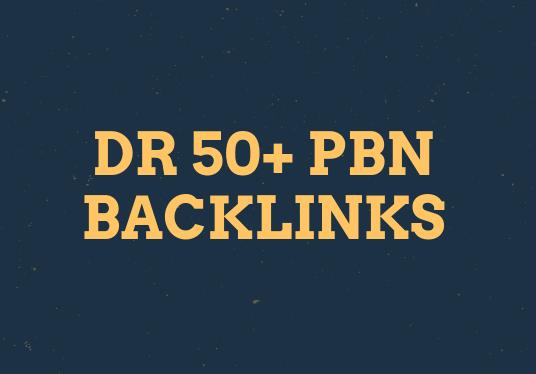 Do 100 Manual HIGH DR 50 Plus Homepage PBN Backlinks