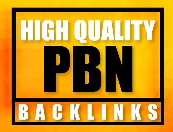 Create 15 High PA/DA TF/CF Homepage PBN Backlinks