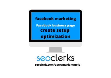 I will create excellent design setup your Facebook business page