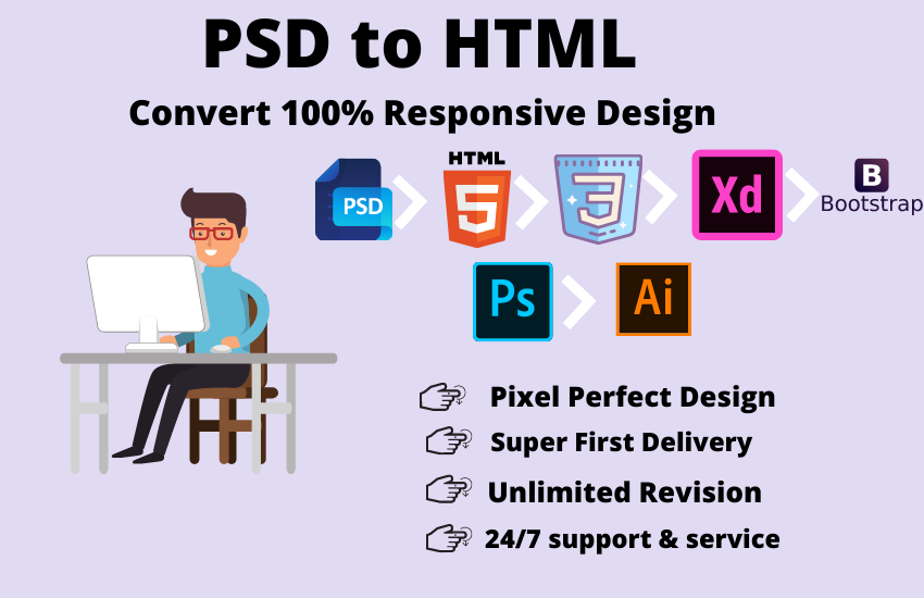 I will develop and design html5, css3, bootstrap, php website