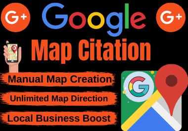 200 Google maps citation manual local seo unique backlinks business listing