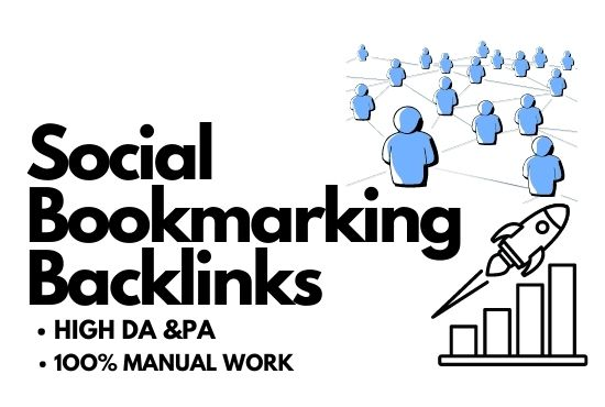 I Will Create 30+ Social Bookmarking Backlinks Manually To Your Website