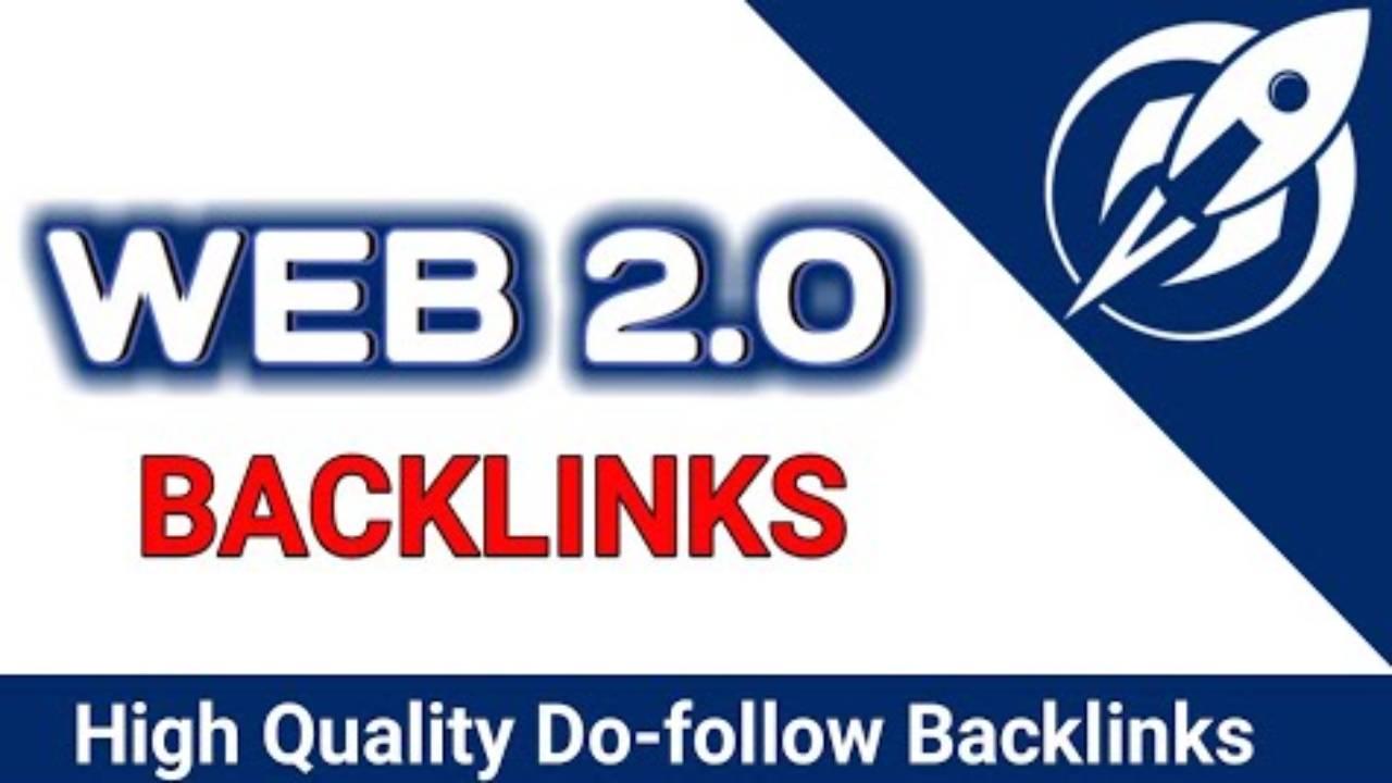 I will Do build dofollow web 2.0 backlink