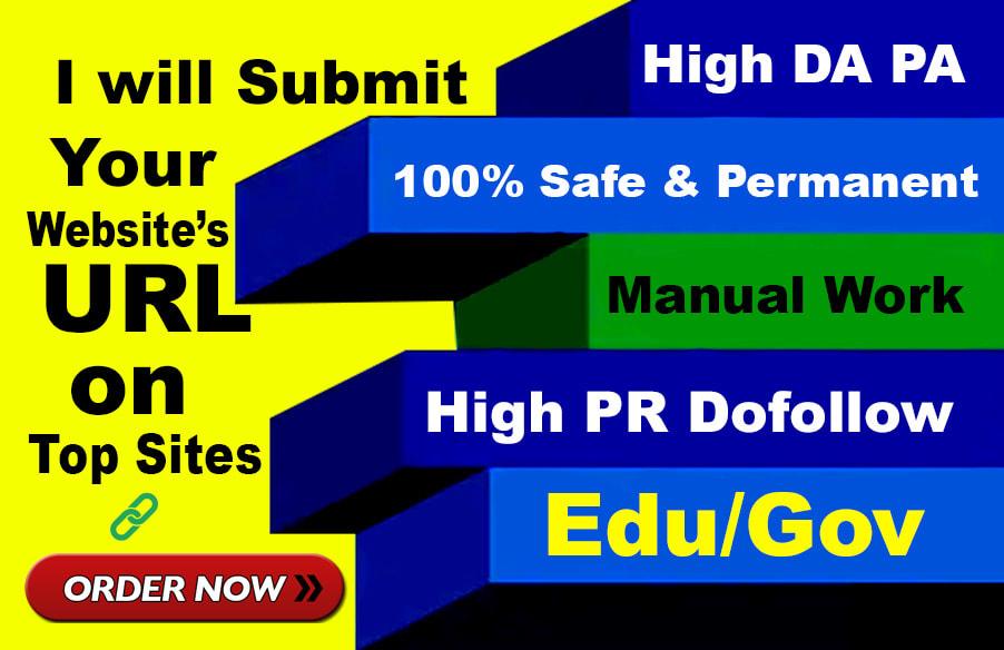 I will 60 high authority USA pr9, edu profile backlinks,  link building