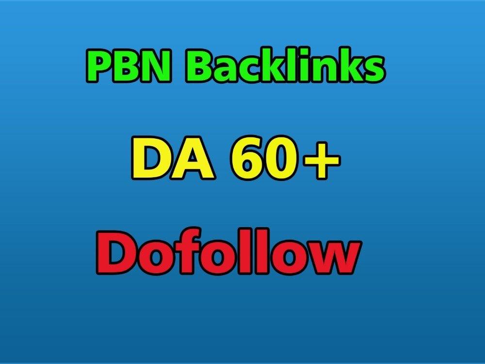 100 High DA 65+ Homepage PBN Backlinks