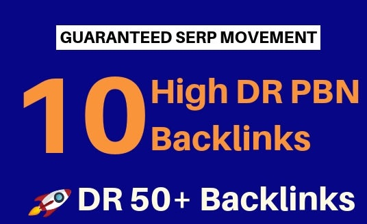 10 PBNs High DR 50 to 70 Homepage pbn Dofollow Backlinks