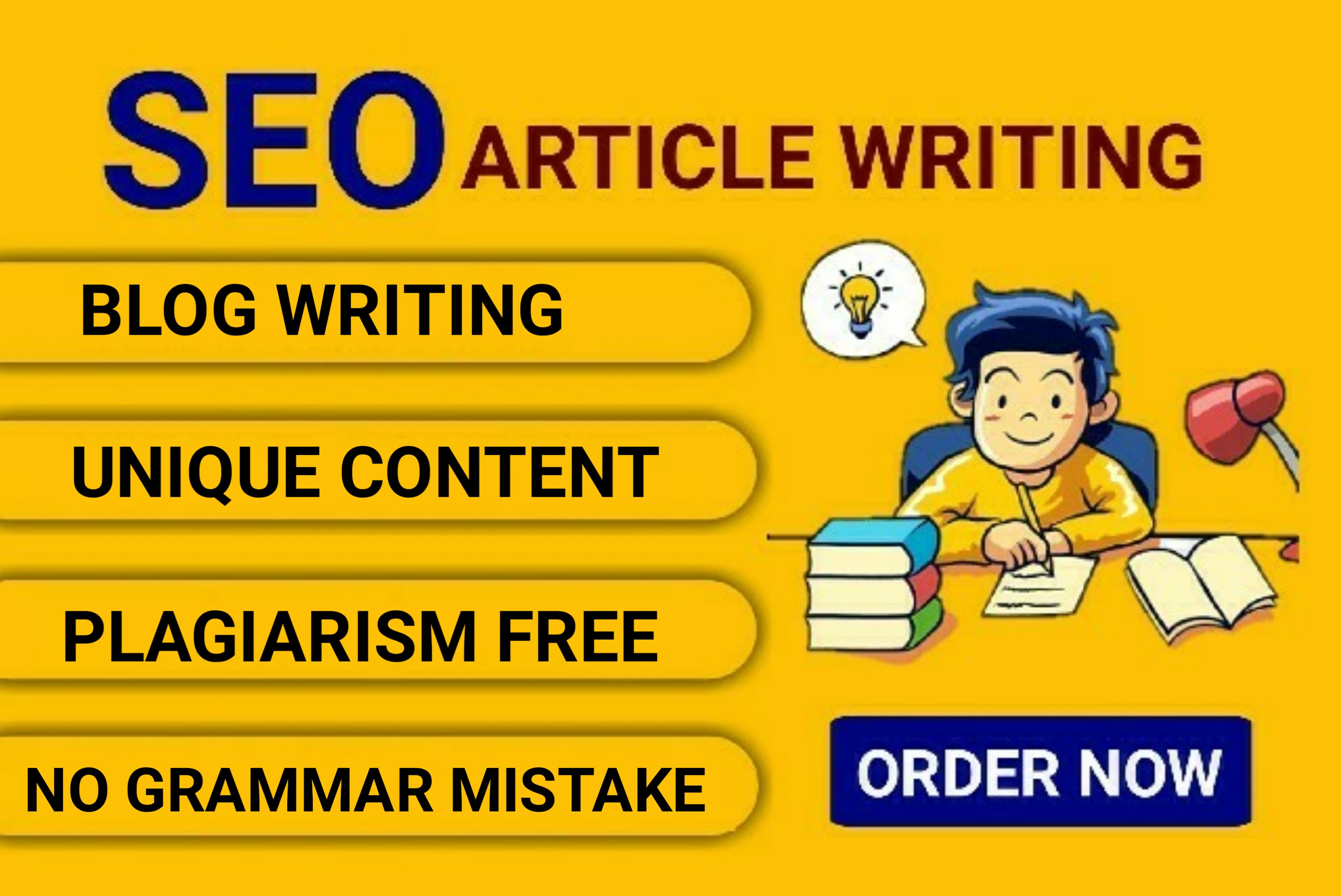 I will create a SEO friendly website content or article writing