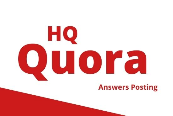 I will developed your website 5 high quality quora answers