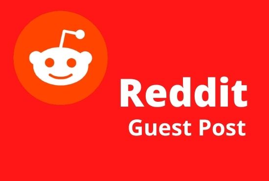 I will provide 5 high quality reddit guest post with targeted keyword and url