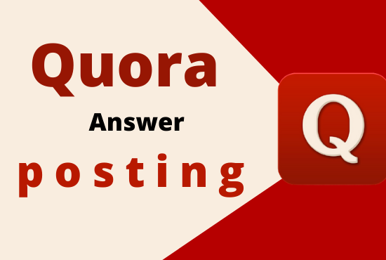 I will do promote 3 high quality quora answer with your URL