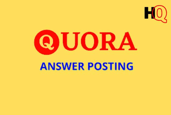 I will promote 10 high quality quora answer with your link
