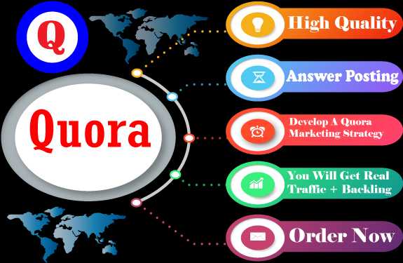 I Will Promote your 3 Powerful Quora Answer with Backlink