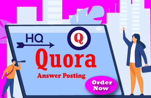 I Will promote Your Website 10 High Quality Quora Answers.