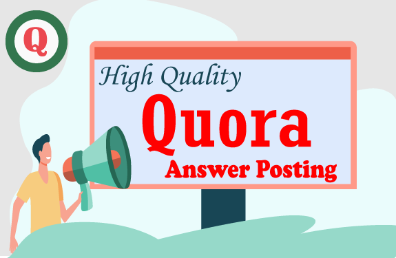 Promote your website 20 high quality Quora Answer with link