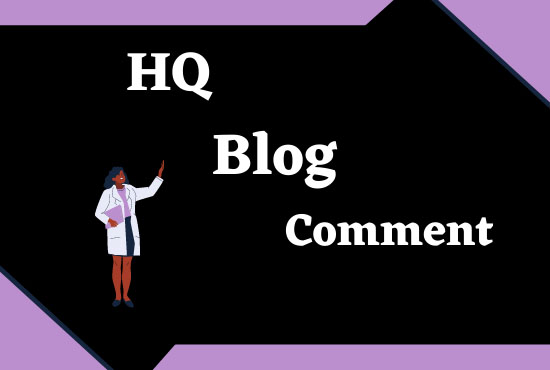 I will do 100 blog comment,  do-follow blog comments backlinks with high DA blogs