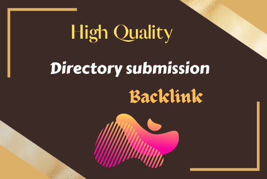I will build manually 100 HQ directory submission with backlink for website
