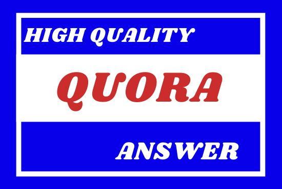 I will promote your website ranking & traffic with 20 high quality Quora answers