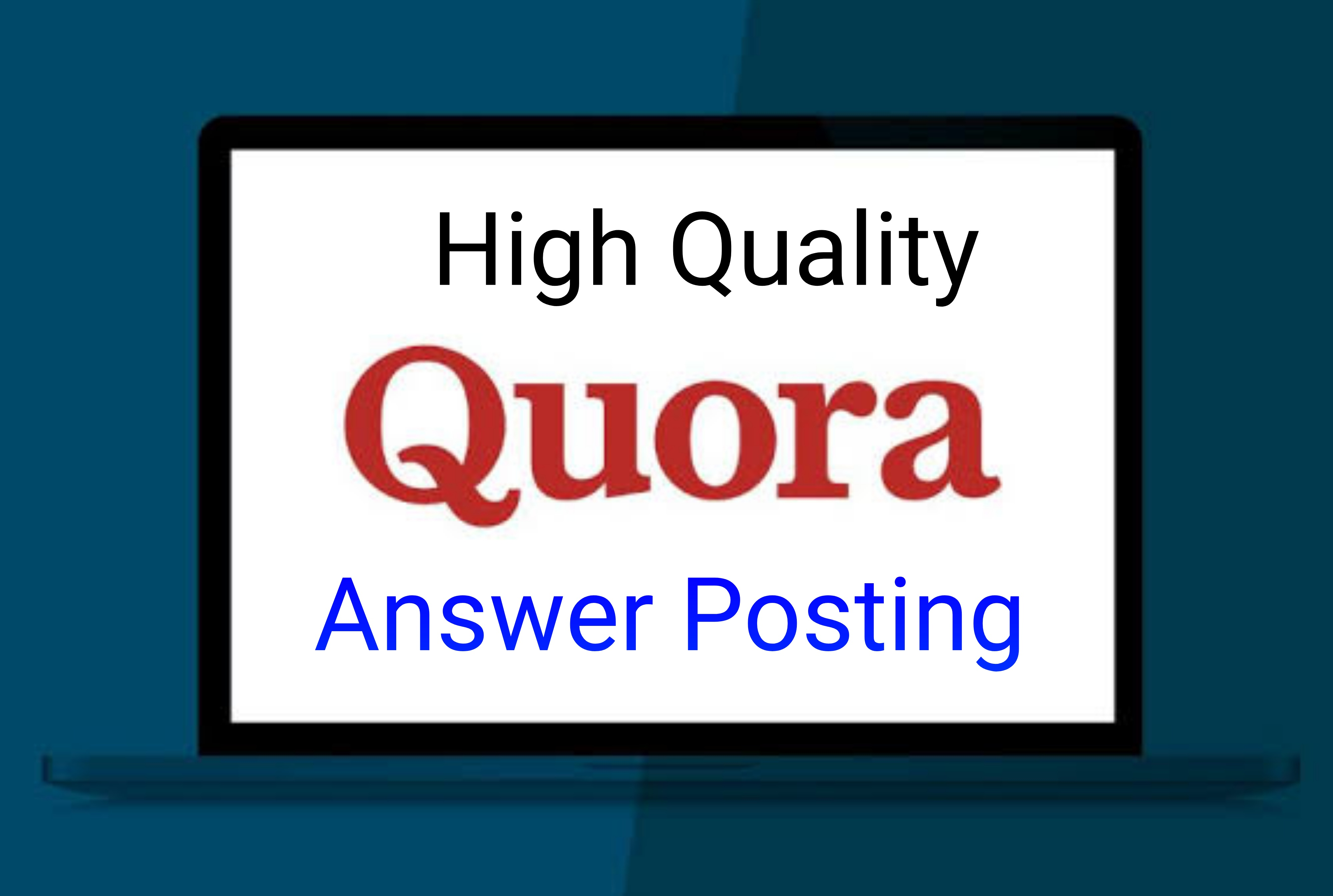 Promote your website by 10 High Quality & Unique Quora Answer