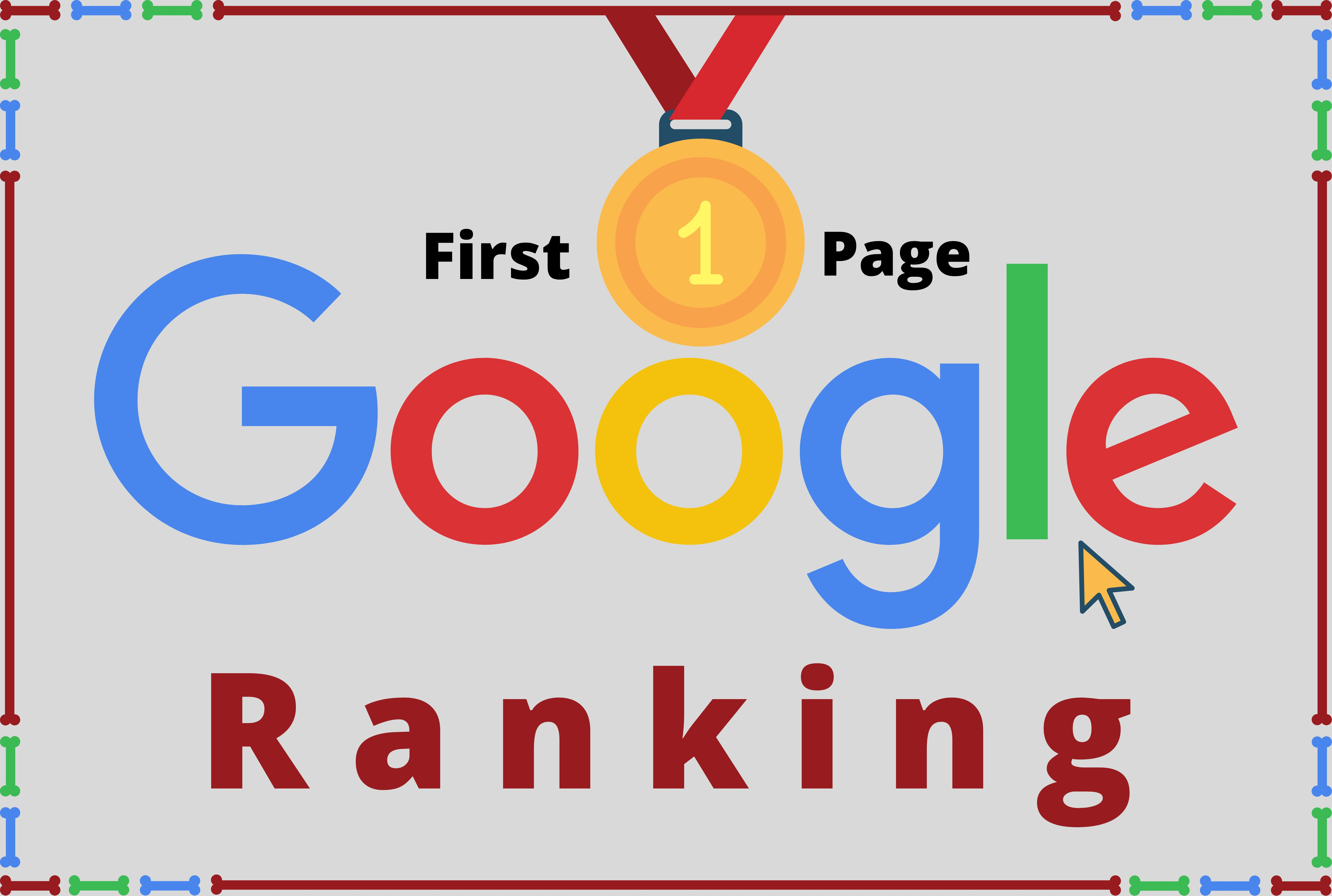 I will do guaranteed rank your website on google first page