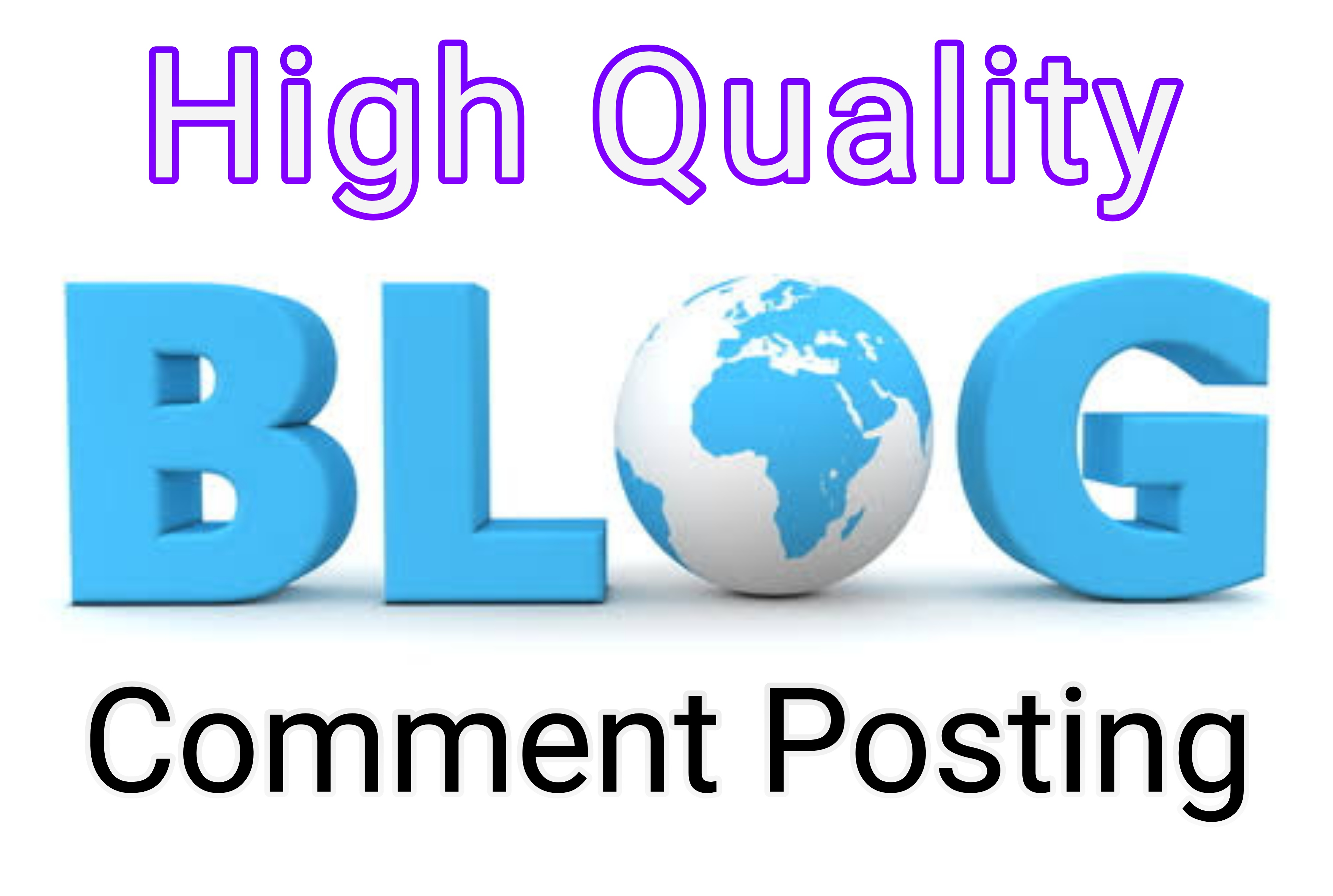 Promote Your Website by 100 High Quality Blog Comments